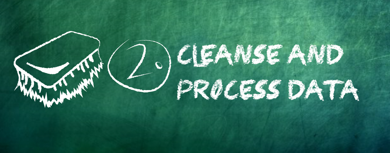 Cleanse and process data