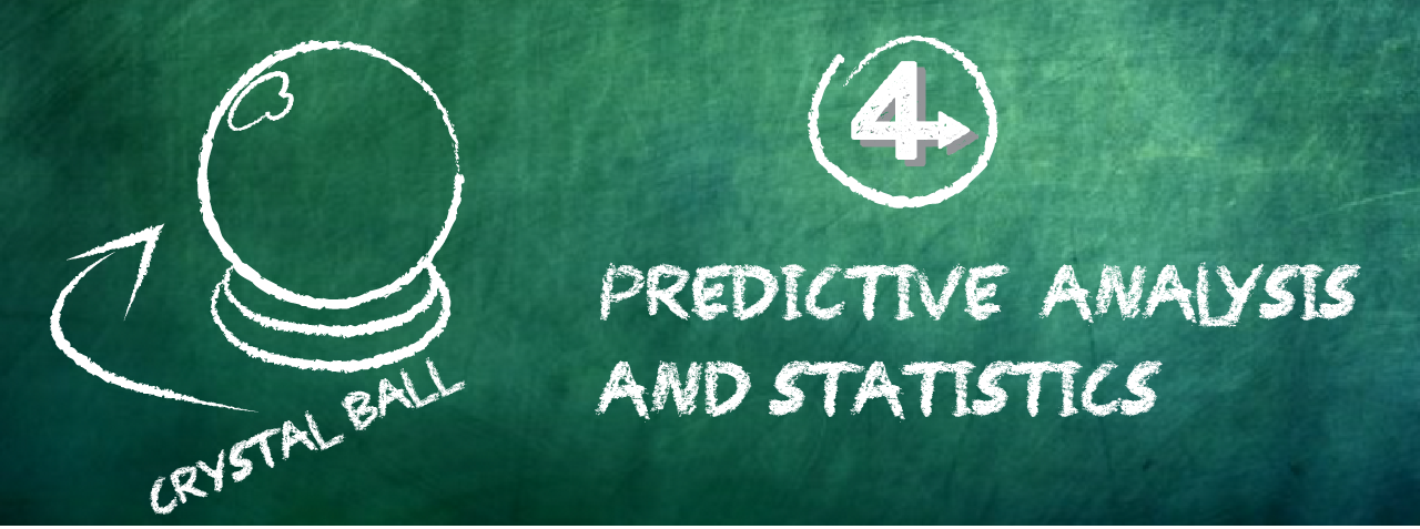 Predictive analysis and statistics