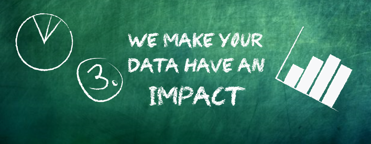 We make your data have an impact.
